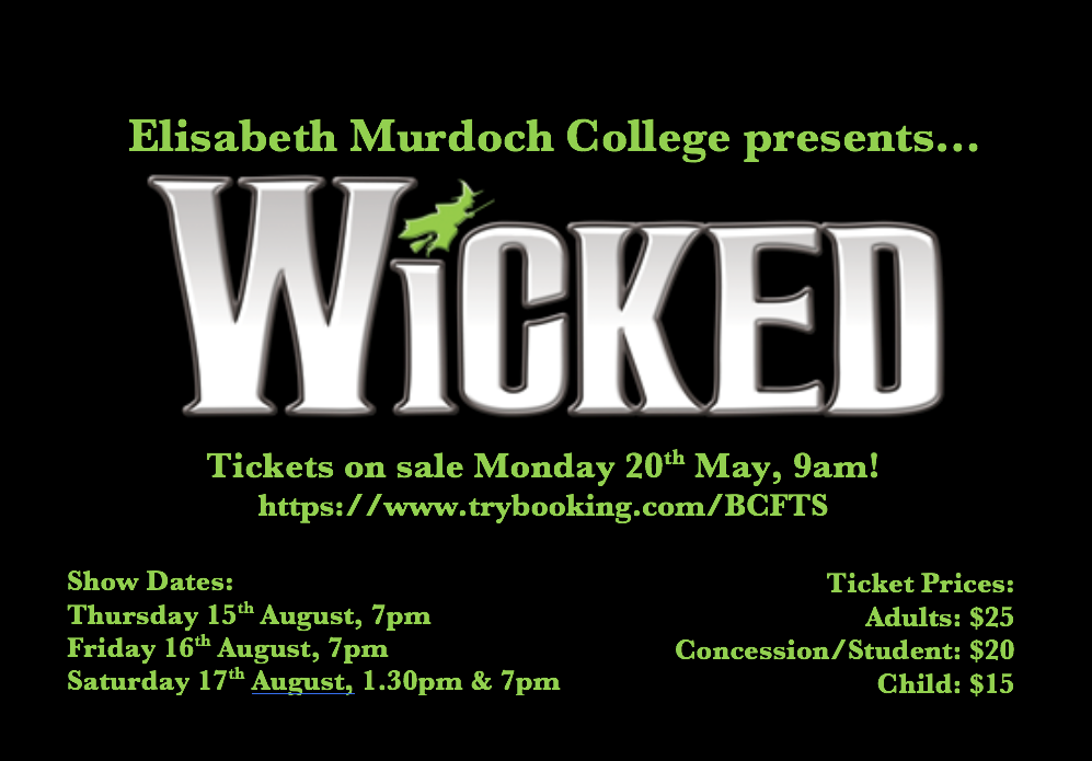 2019 Production Wicked Logo