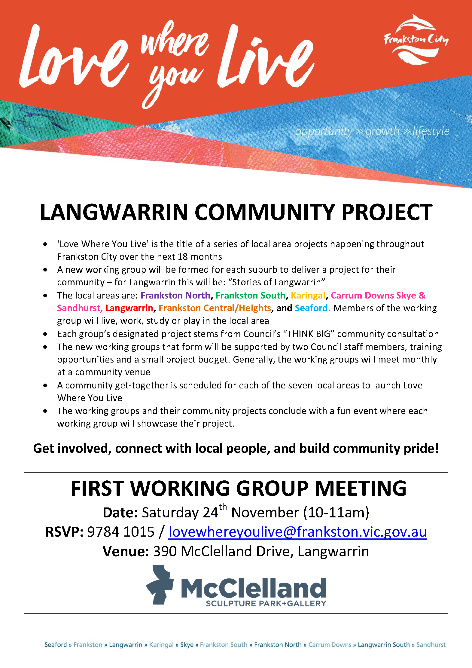 Langwarrin Community Project 2019