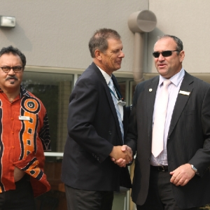 Indigenous Flag Ceremony 2014